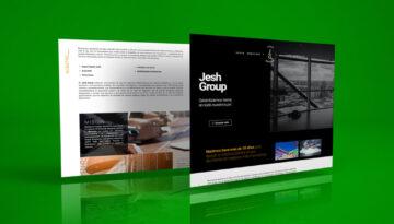 Web Mockup Jesh