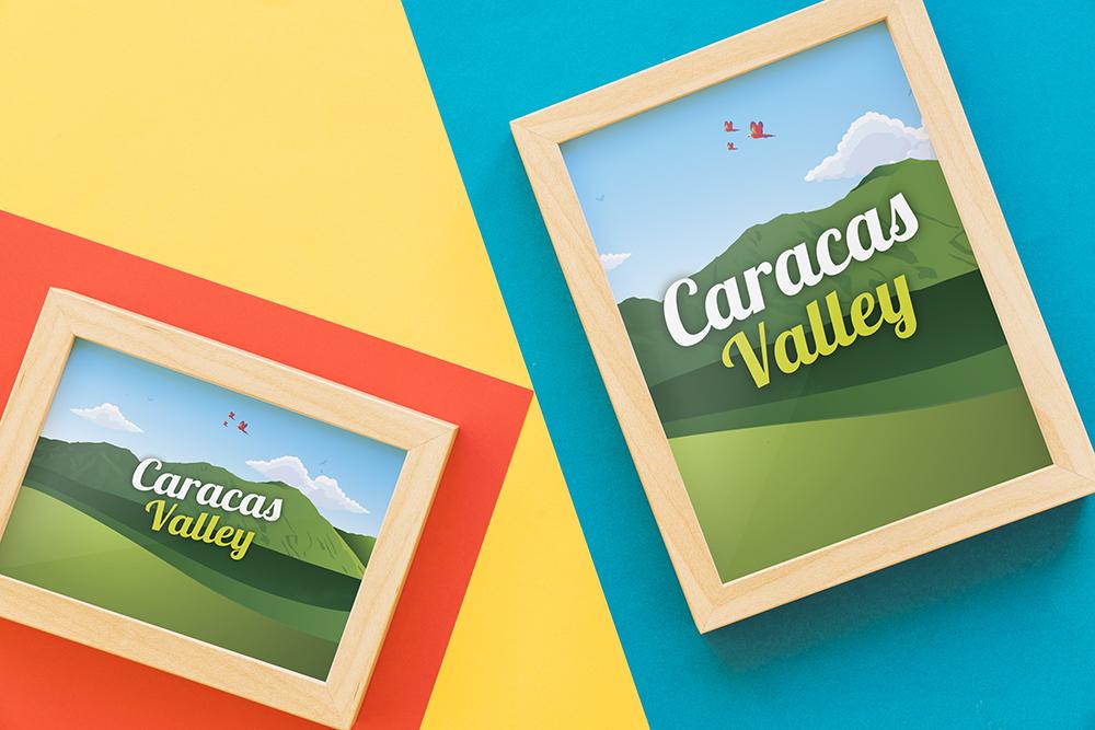 Ilustración Caracas