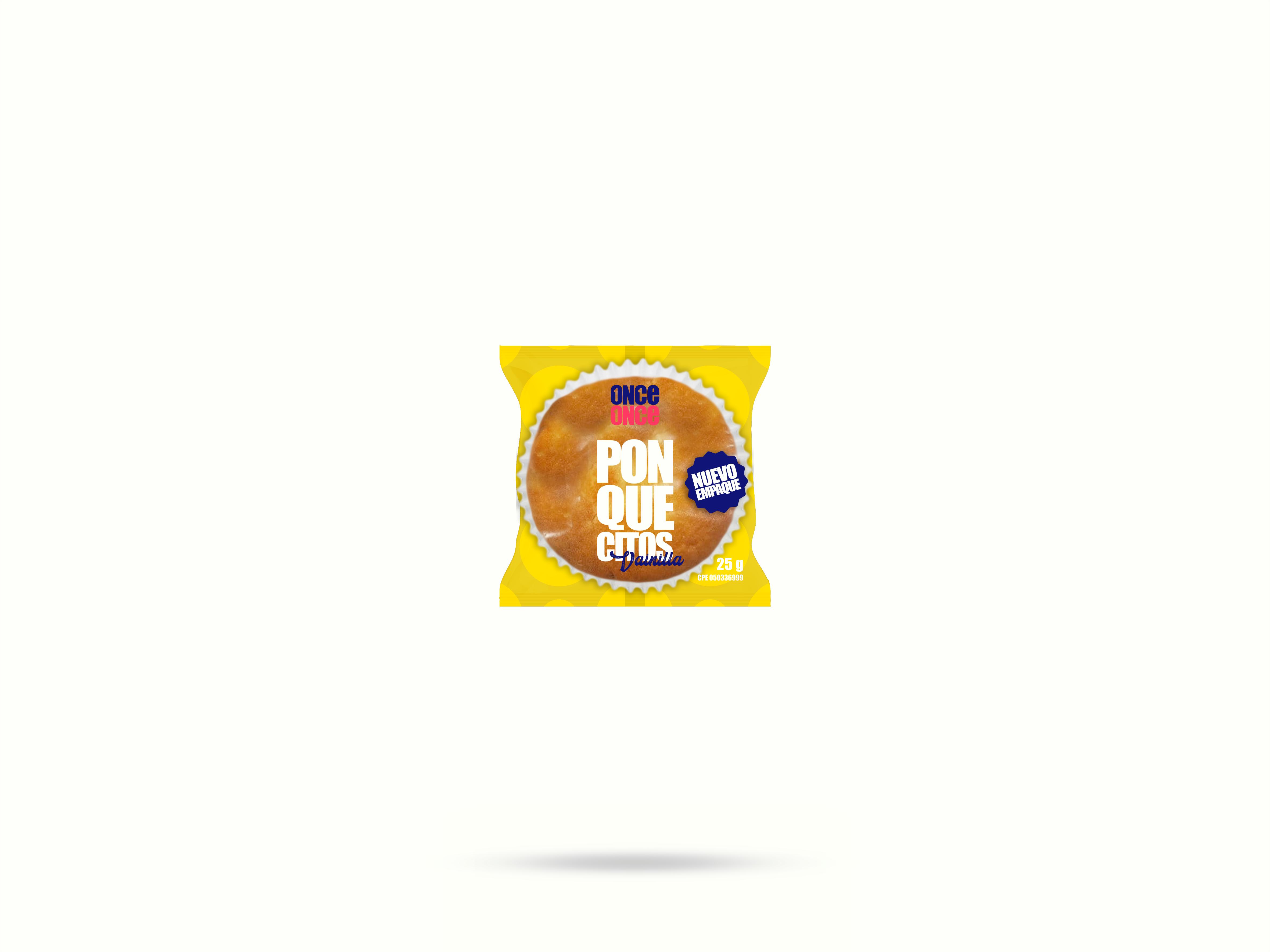 ONCE ONCE - Mockup - Empaque - 01 - Ponqué - 01