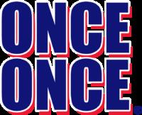 Once Once Logo en letras